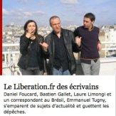 Libération.fr des écrivains