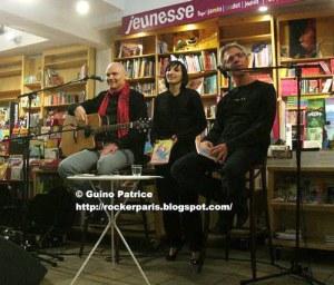 Billy Corgan, Claire Fercak, Jérôme Dayre : à la librairie Atout-Livre.