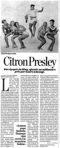 Éric Loret, Libération, 01/06/2006