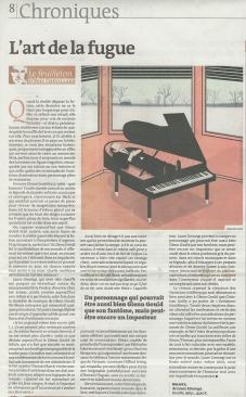Éric Chevillard, Le Monde des Livres, 6 juillet 2013