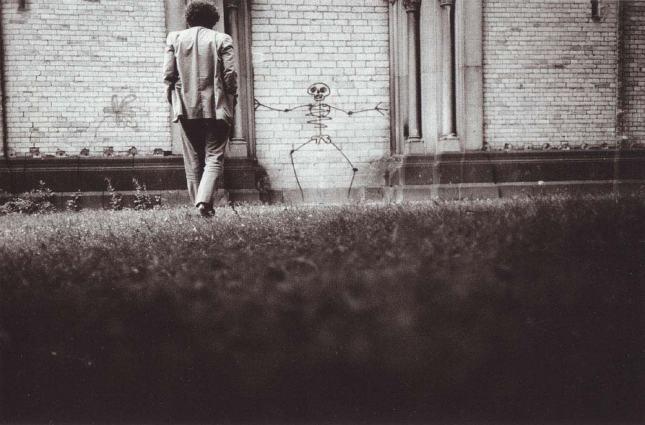 Denis Roche, autoportrait, 11 juin 1985. Cologne.