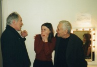 avec Bernard Heidsieck & John Giorno