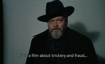 F for Fake, Orson Welles